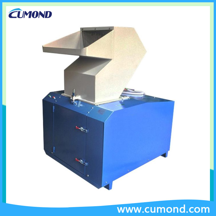 CUMOND soundproof plastic recycling equipment / plastic bottle crusher machine CPCP-750J