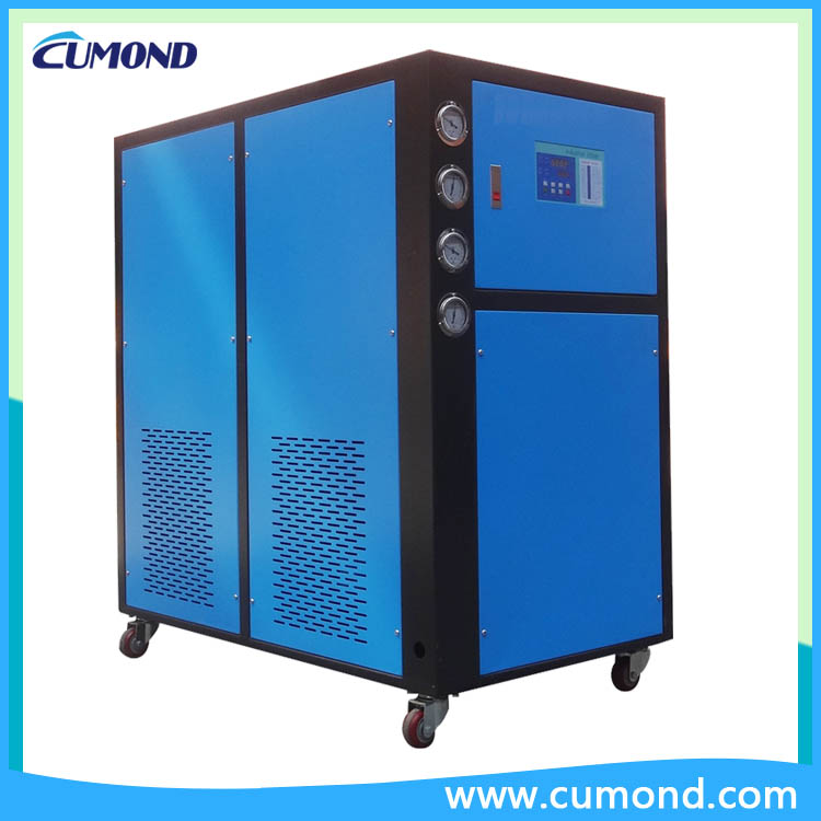 50hp energy saving air cooled industrial water chiller manufacturer for plastic industry