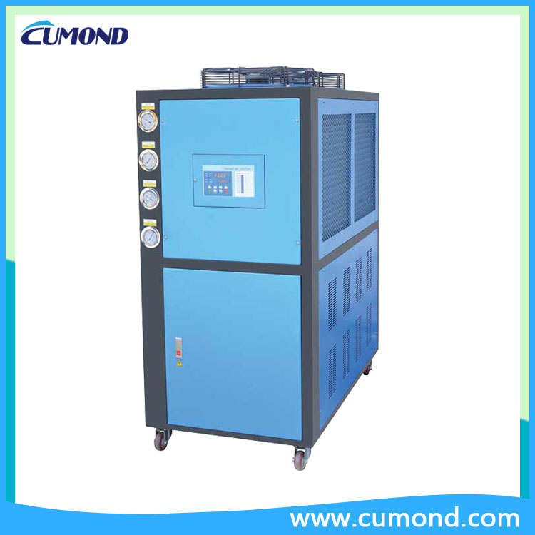 China 15HP Air Cooled Chiller For Sea Water / Seawater Chiller Factory