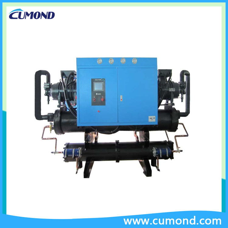Laboratory use Low Temperature Water Cooled Screw Chiller