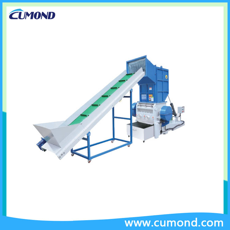 Soundproof Granulator with recycle unit